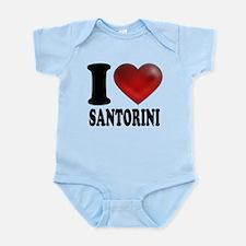 I Heart Santorini Infant Bodysuit