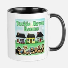 Yorkie Haven Rescue Mug