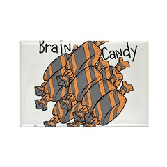 OYOOS Brain Candy design Rectangle Magnet (10 pack
