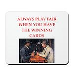 card game Mousepad