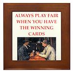 card game Framed Tile