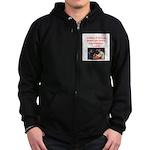 card game Zip Hoodie (dark)