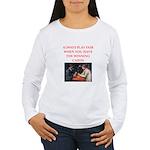 card game Women's Long Sleeve T-Shirt