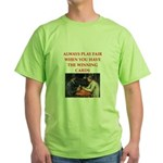 card game Green T-Shirt