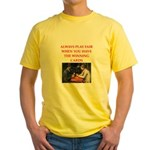 card game Yellow T-Shirt