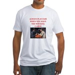card game Fitted T-Shirt