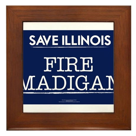 Fire Madigan Framed Tile