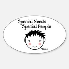 Special People Oval Decal