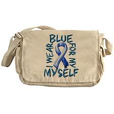 I Wear Blue for Myself.png Messenger Bag