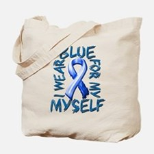 I Wear Blue for Myself.png Tote Bag