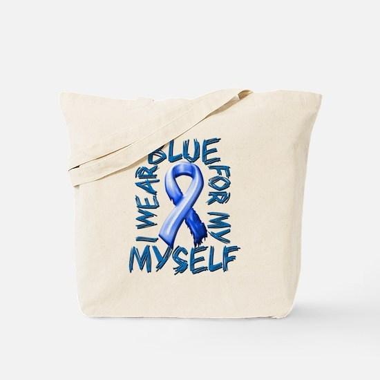I Wear Blue for Myself.png Tote Bag
