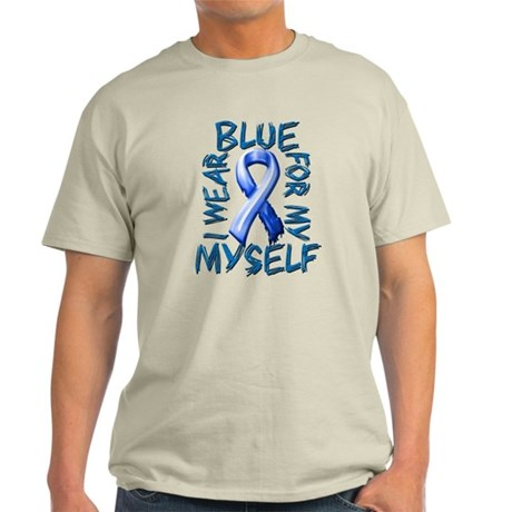 I Wear Blue for Myself.png Light T-Shirt