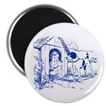 "CHILD IN DOGHOUSE 2.25"" Magnet (100 pack)"