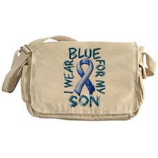 I Wear Blue for my Son.png Messenger Bag