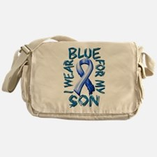 I Wear Blue for my Son.png Messenger Bag