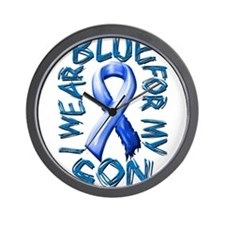 I Wear Blue for my Son.png Wall Clock