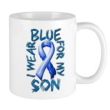 I Wear Blue for my Son.png Mug