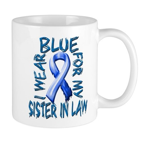 I Wear Blue for my Sister in Law.png Mug