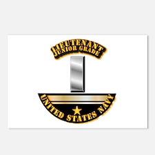 Navy - Officer - LT JG Postcards (Package of 8)