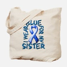 I Wear Blue for my Sister.png Tote Bag