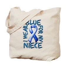 I Wear Blue for my Niece.png Tote Bag