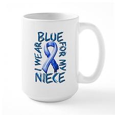 I Wear Blue for my Niece.png Mug