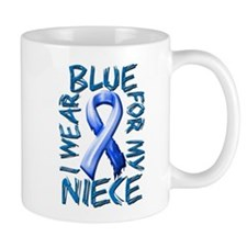 I Wear Blue for my Niece.png Mug