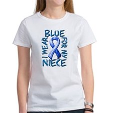 I Wear Blue for my Niece.png Tee