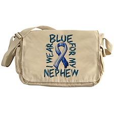 I Wear Blue for my Nephew.png Messenger Bag