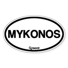 Mykonos Bumper Stickers