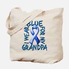 I Wear Blue for my Grandpa.png Tote Bag