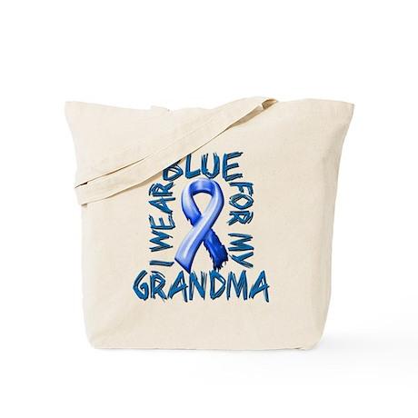 I Wear Blue for my Grandma.png Tote Bag