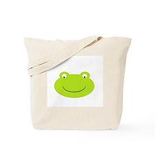 Frog Face Tote Bag