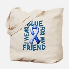 I Wear Blue for my Friend.png Tote Bag