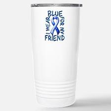 I Wear Blue for my Friend.png Travel Mug