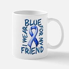 I Wear Blue for my Friend.png Mug