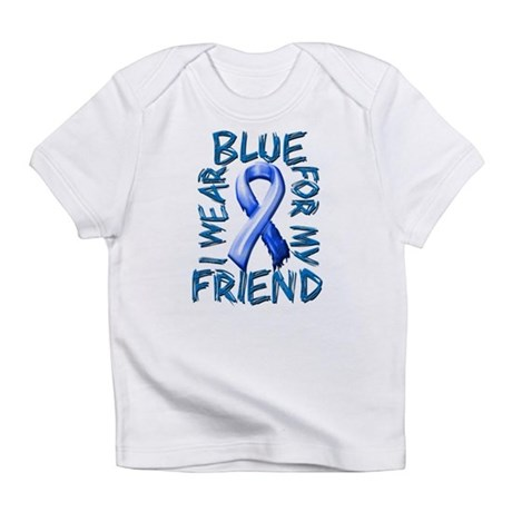 I Wear Blue for my Friend.png Infant T-Shirt