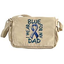 I Wear Blue for my Dad.png Messenger Bag