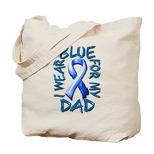 I Wear Blue for my Dad.png Tote Bag