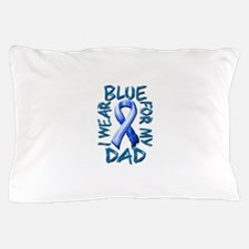 I Wear Blue for my Dad.png Pillow Case