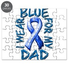 I Wear Blue for my Dad.png Puzzle