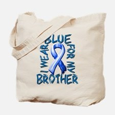I Wear Blue for my Brother.png Tote Bag