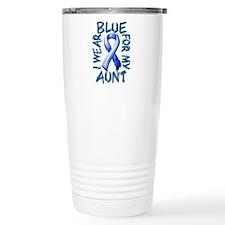 I Wear Blue for my Aunt Travel Mug