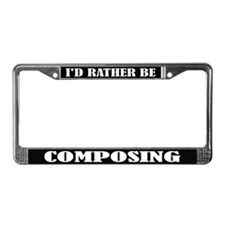 Composer License Frame