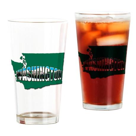 Washington green state Rainier Drinking Glass