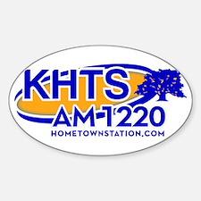 KHTS Logo Sticker (Oval)