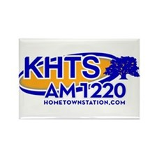 KHTS Logo Rectangle Magnet