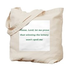 Please, Lord Tote Bag