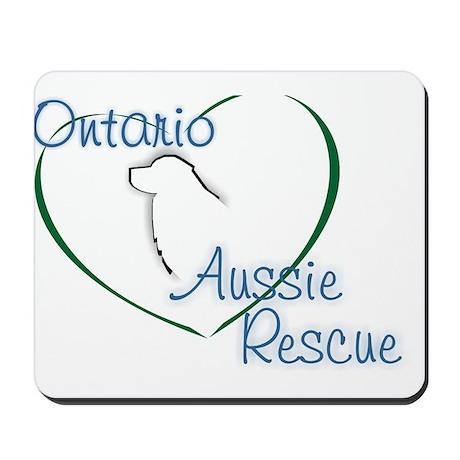 Ontario Aussie Rescue Mousepad