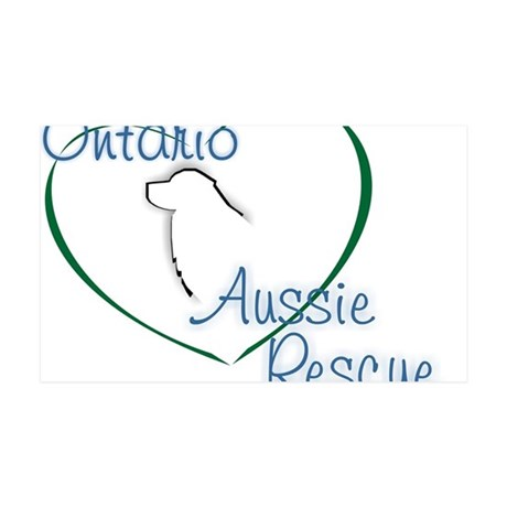 Ontario Aussie Rescue 35x21 Wall Decal